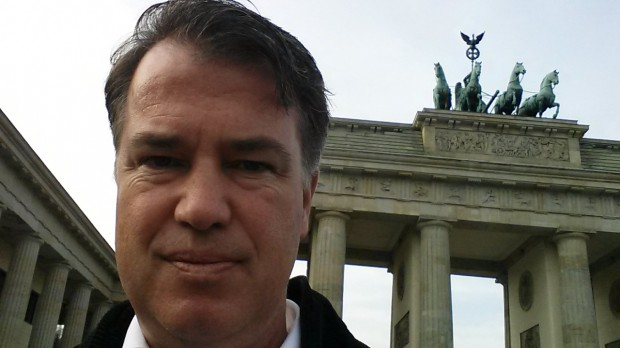 Michael Voß am Brandenburger Tor