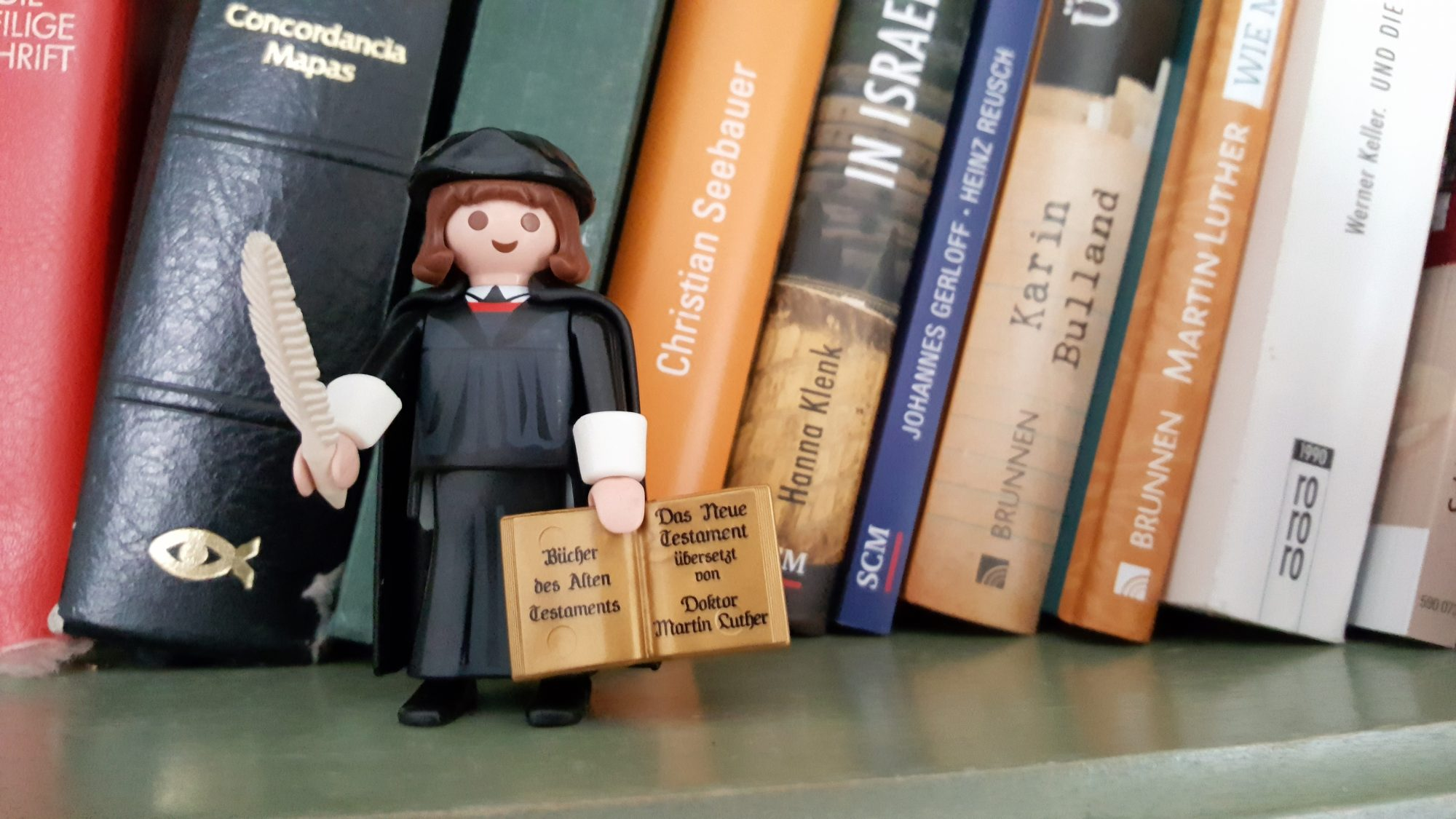 Martin Luther bei Playmobil