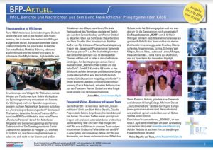 """BFP Aktuell""-Newsletter"